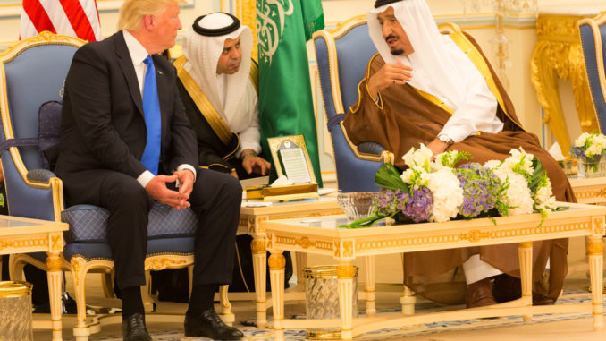 Pres. Trump and King Salman